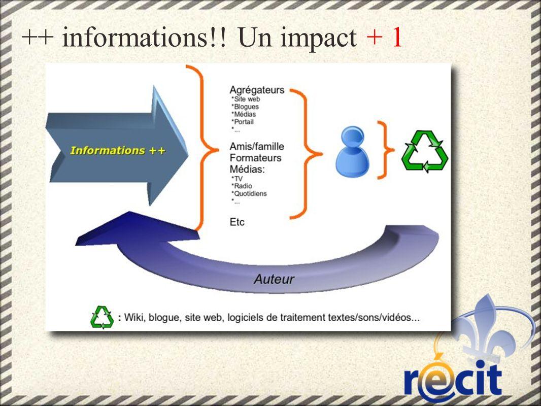 ++ informations!! Un impact + 1