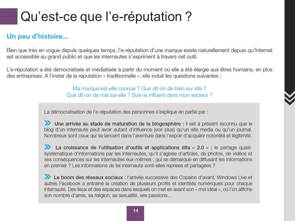 Quest-ce que le-réputation ? 14