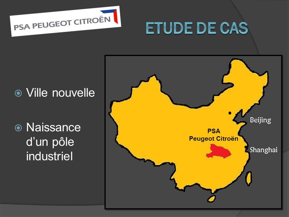 Ville nouvelle Naissance dun pôle industriel Beijing Shanghai PSA Peugeot Citroën