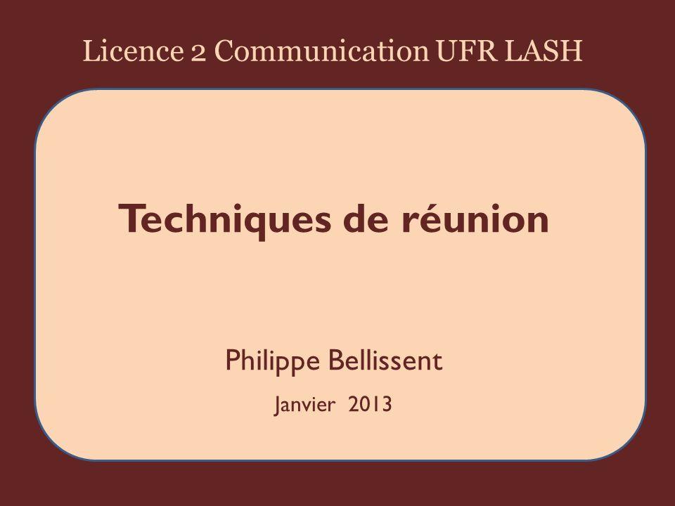 Synthèse dune réunion en IPPDA texte 22UFR LASH 2013 Philippe Bellissent