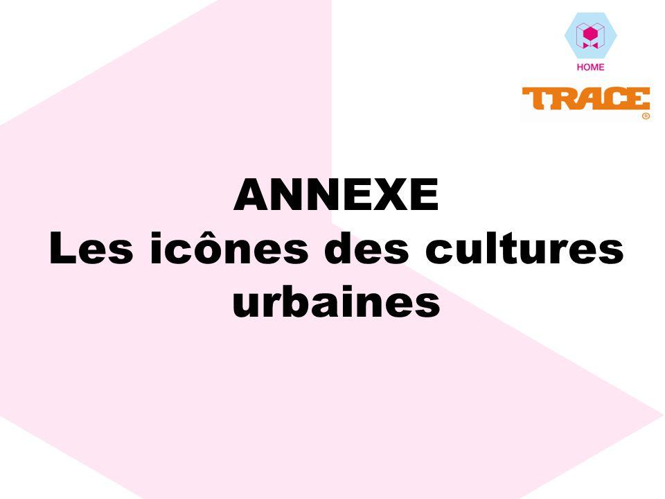 ANNEXE Les icônes des cultures urbaines