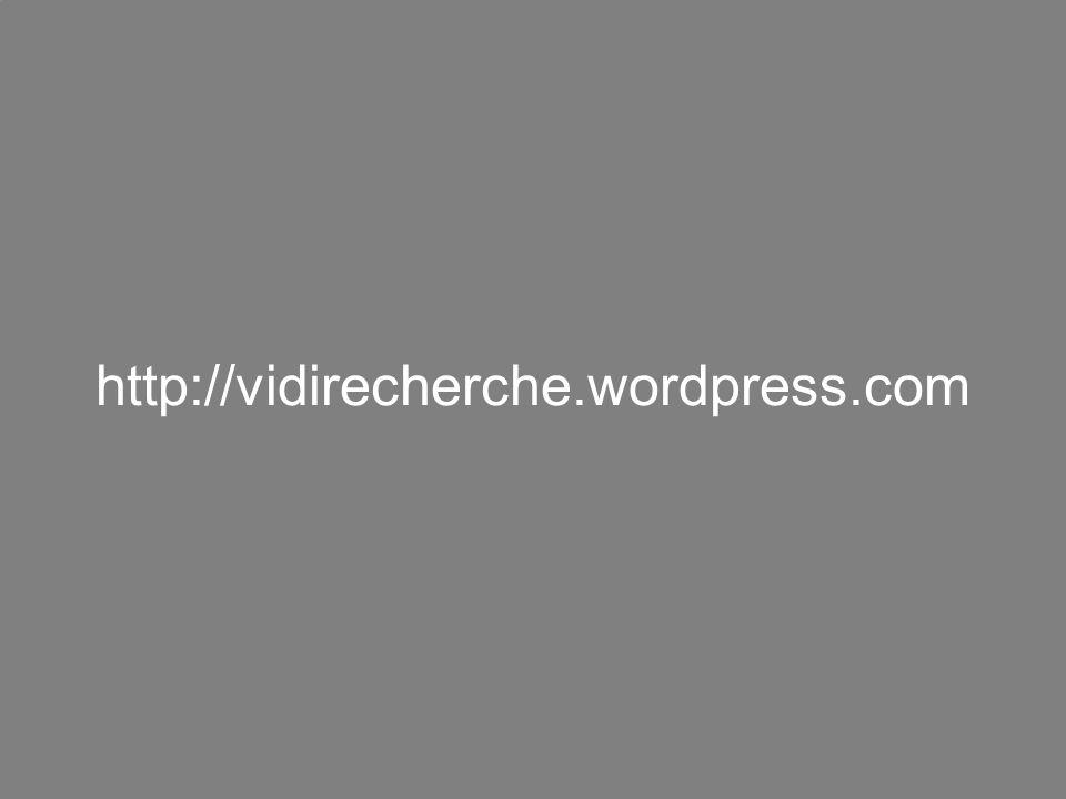 http://vidirecherche.wordpress.com