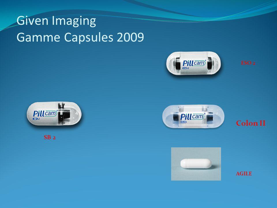 Given Imaging Gamme Capsules 2009 ESO 2 SB 2 Colon II AGILE