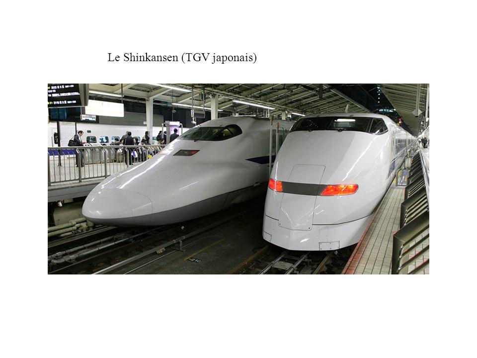 Le Shinkansen (TGV japonais)