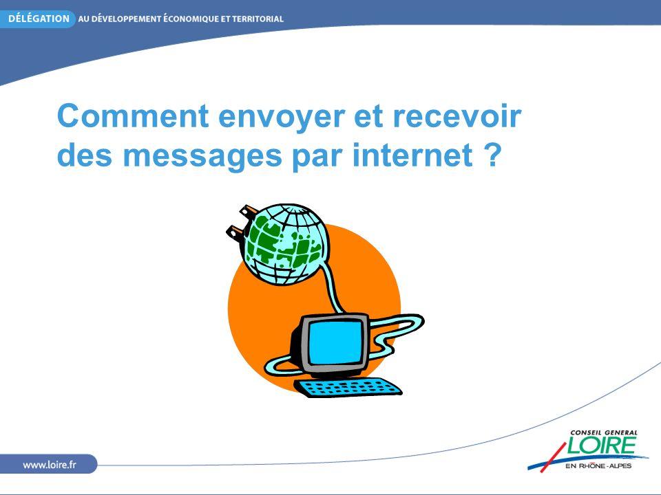 Comment envoyer et recevoir des messages par internet