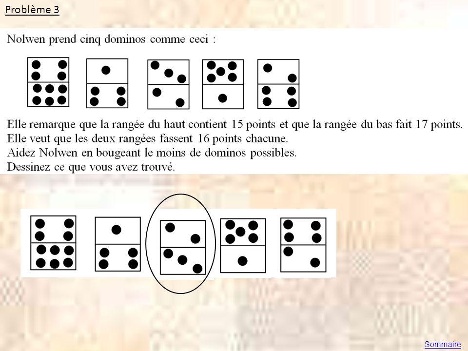 Problème 3 Sommaire