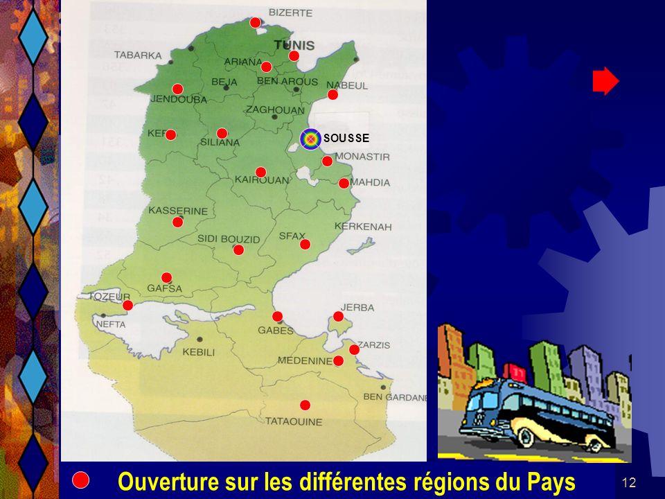 26/04/2014SAMU / CESU 0312 SOUSSE Ouverture sur les différentes régions du Pays