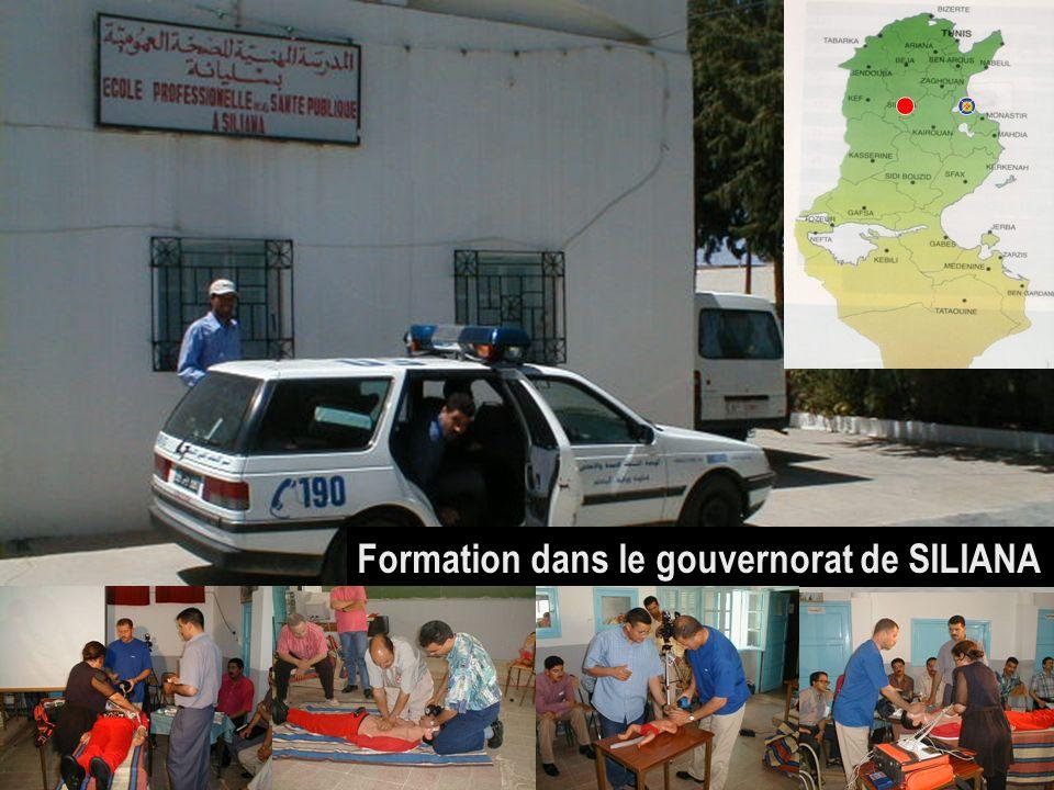 26/04/2014SAMU / CESU 0313 Formation dans le gouvernorat de SILIANA