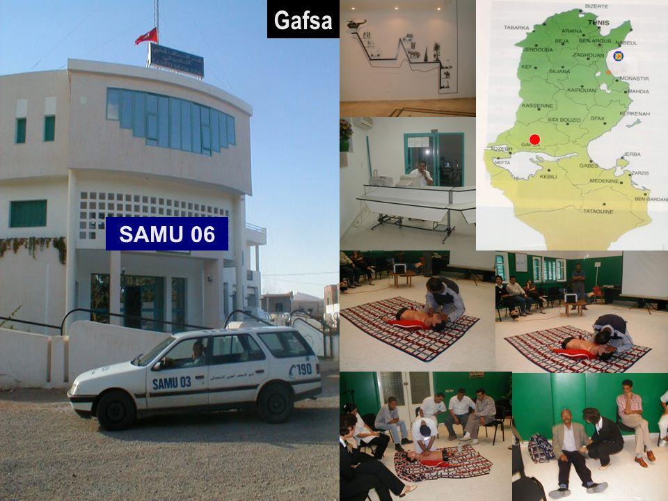 26/04/2014SAMU / CESU 0316 SAMU 06 Gafsa