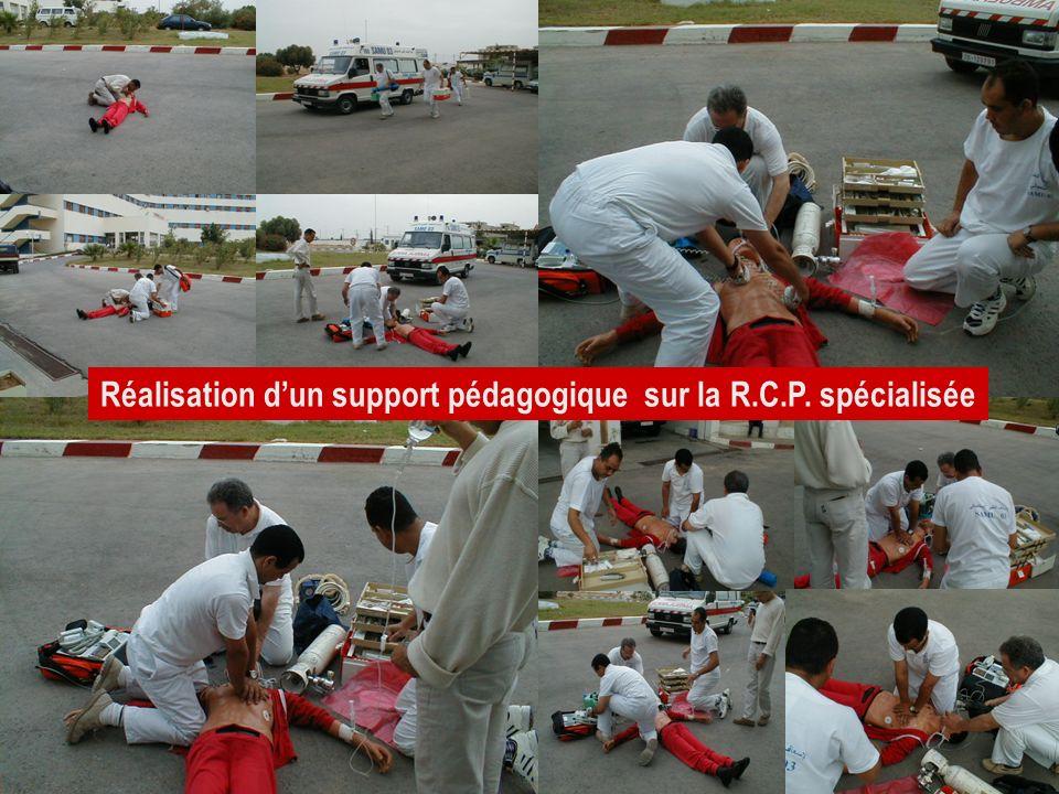 26/04/2014SAMU / CESU 0328 Réalisation dun support pédagogique sur la R.C.P. spécialisée