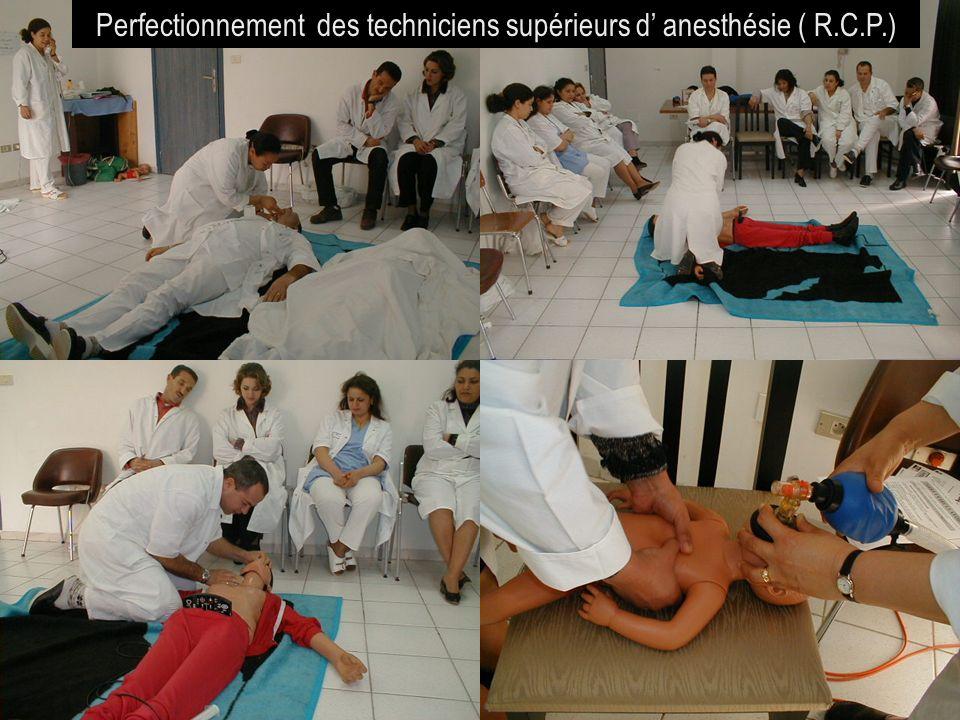 26/04/2014SAMU / CESU 0334 Perfectionnement des techniciens supérieurs d anesthésie ( R.C.P.)