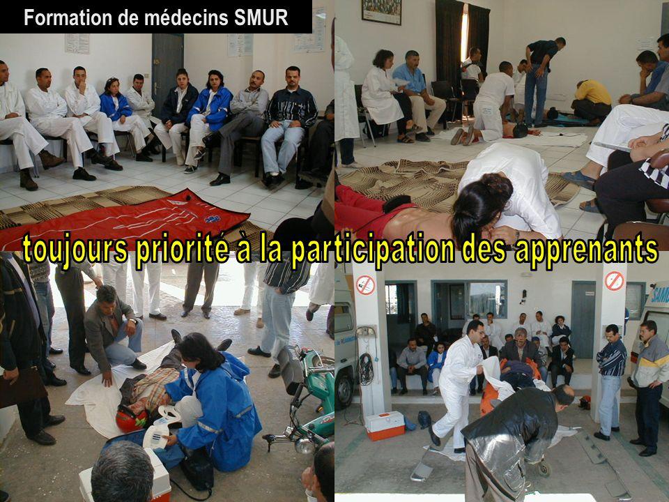 26/04/2014SAMU / CESU 0335 Formation de médecins SMUR