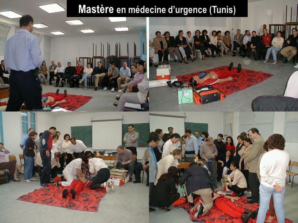 26/04/2014SAMU / CESU 0342 Mastère en médecine durgence (Tunis)