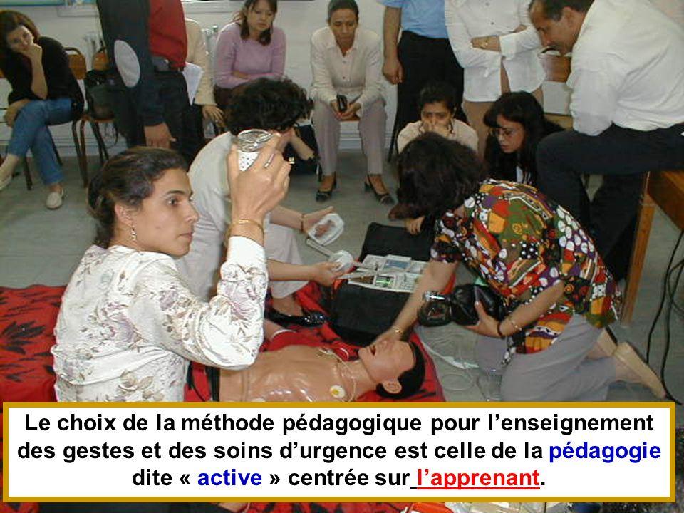 26/04/2014SAMU / CESU 0345 Le choix de la méthode pédagogique pour lenseignement des gestes et des soins durgence est celle de la pédagogie dite « act