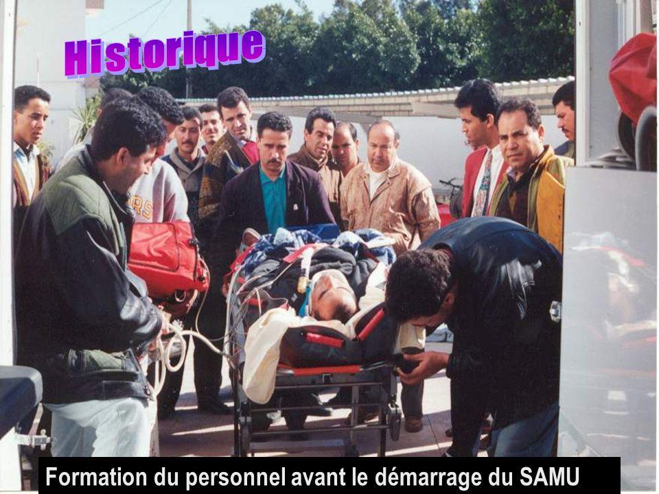 26/04/2014SAMU / CESU 036 Formation du personnel avant le démarrage du SAMU