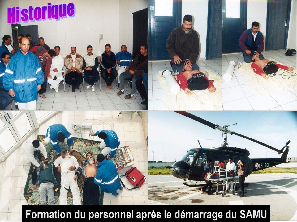 26/04/2014SAMU / CESU 037 Formation du personnel après le démarrage du SAMU