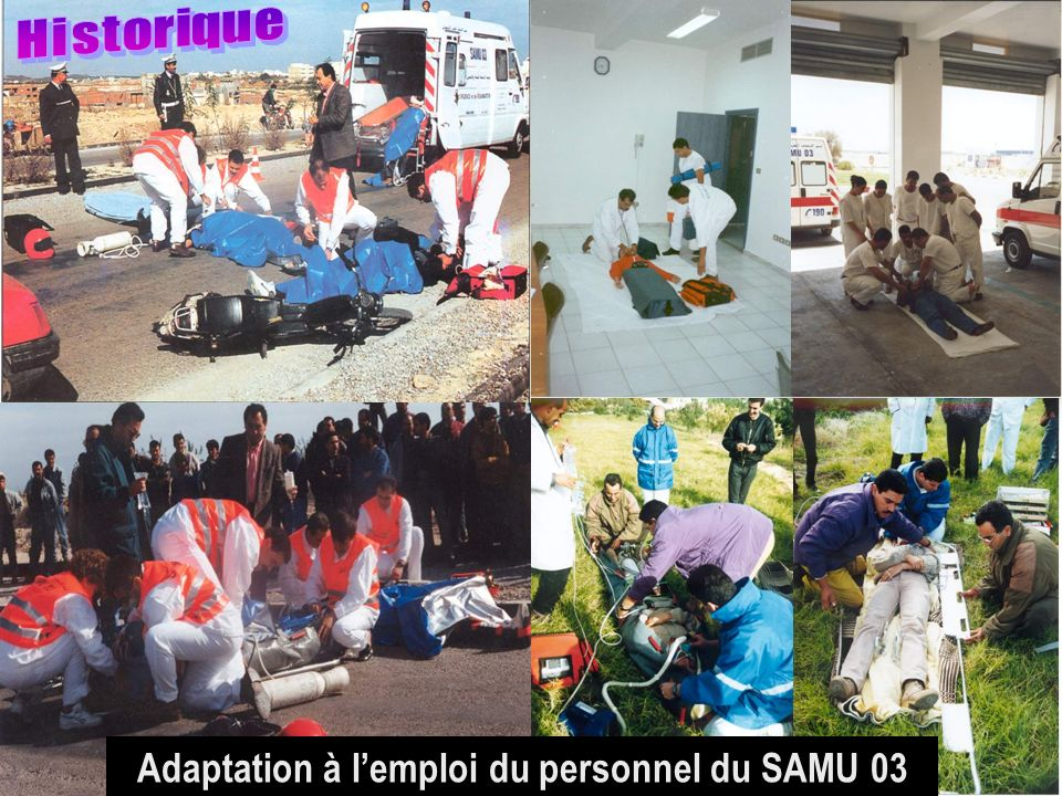 26/04/2014SAMU / CESU 038 Adaptation à lemploi du personnel du SAMU 03