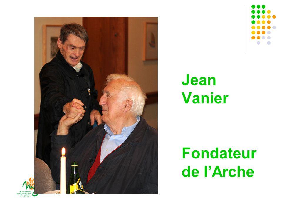 Jean Vanier Fondateur de lArche