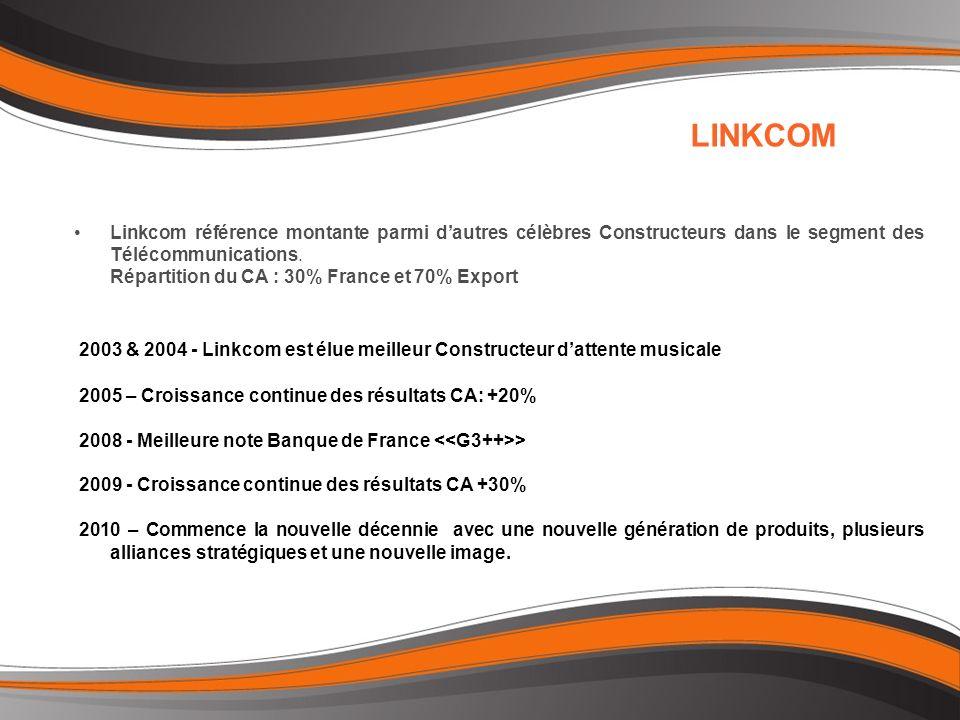 Linkcom référence montante parmi dautres célèbres Constructeurs dans le segment des Télécommunications.