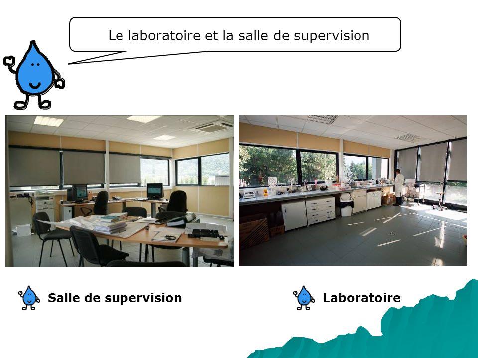 Le laboratoire et la salle de supervision LaboratoireSalle de supervision
