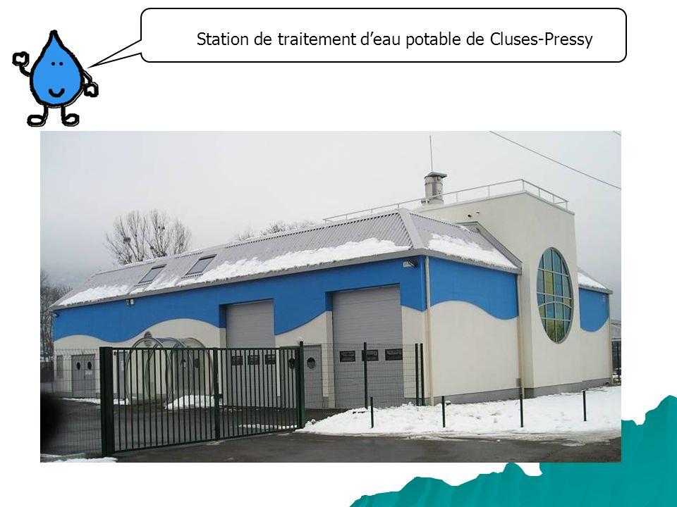 Station de traitement deau potable de Cluses-Pressy