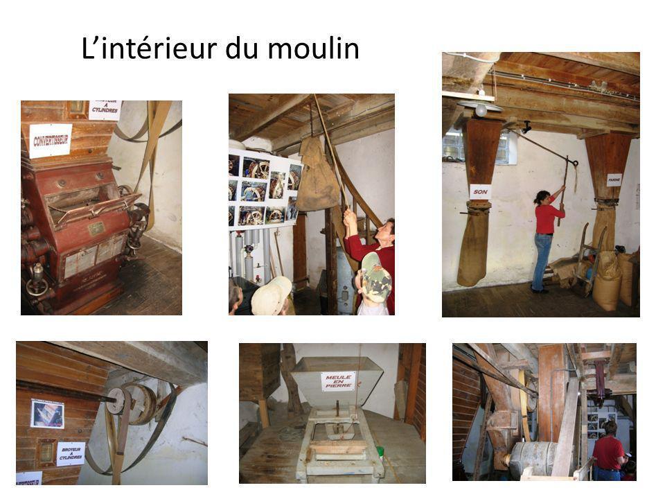 Lintérieur du moulin