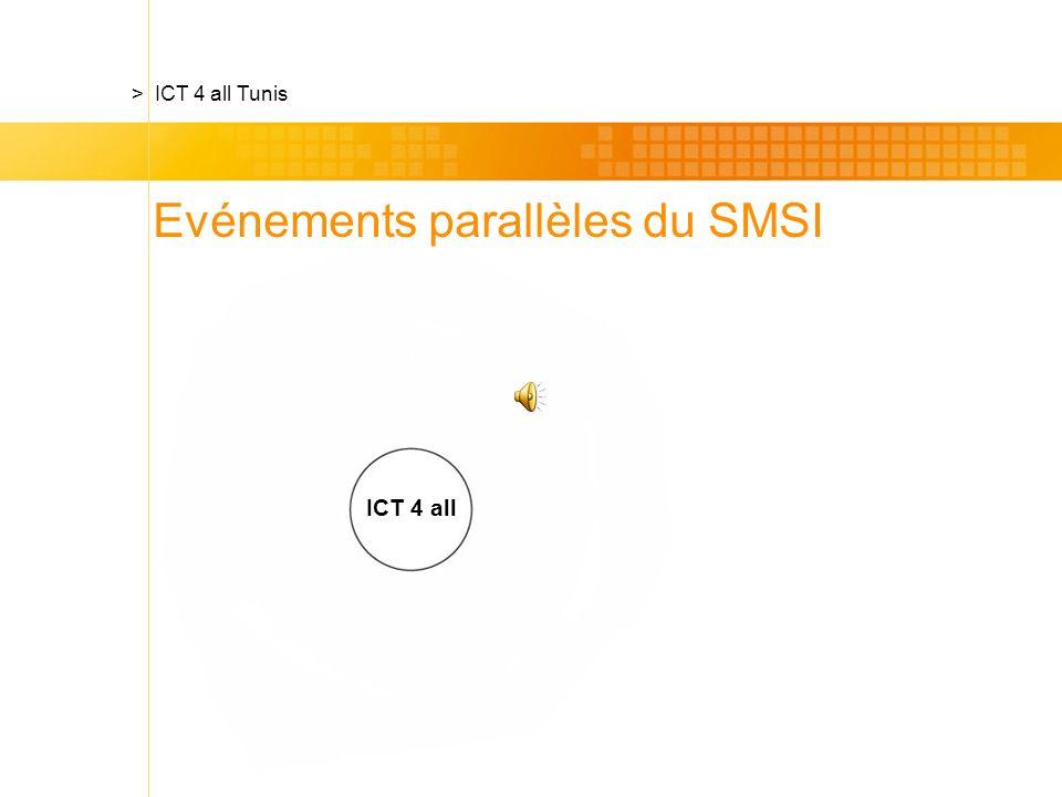ICT 4 all Evénements parallèles du SMSI