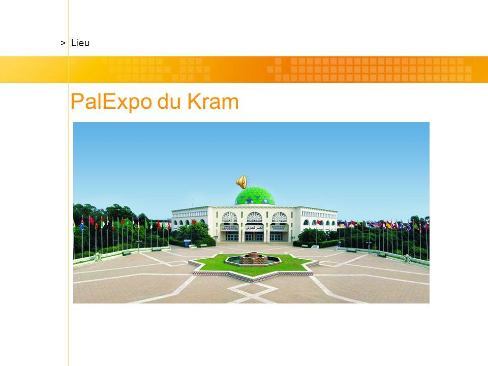 PalExpo du Kram > Lieu
