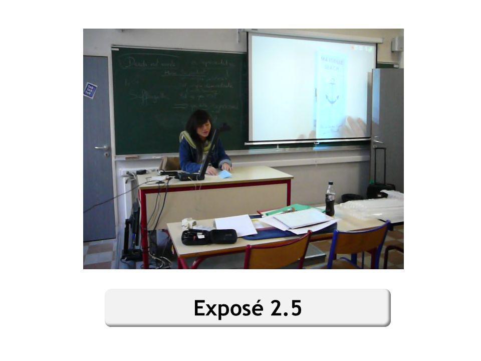 En filmant avec un caméscope un exposé présenté par un élève utilisant un visualiseur, on peut éditer les deux enregistrements, du caméscope et de la caméra intégrée du visualiseur, pourobtenir un clip vidéo et audio unique à déposer sur lENT.