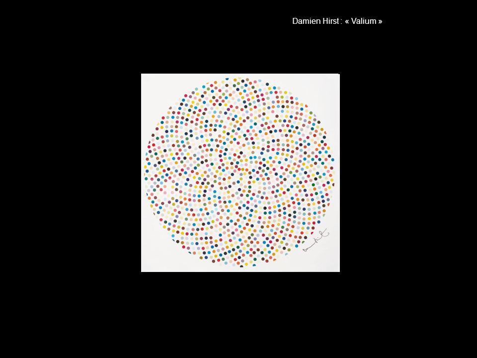 Damien Hirst : « Valium »