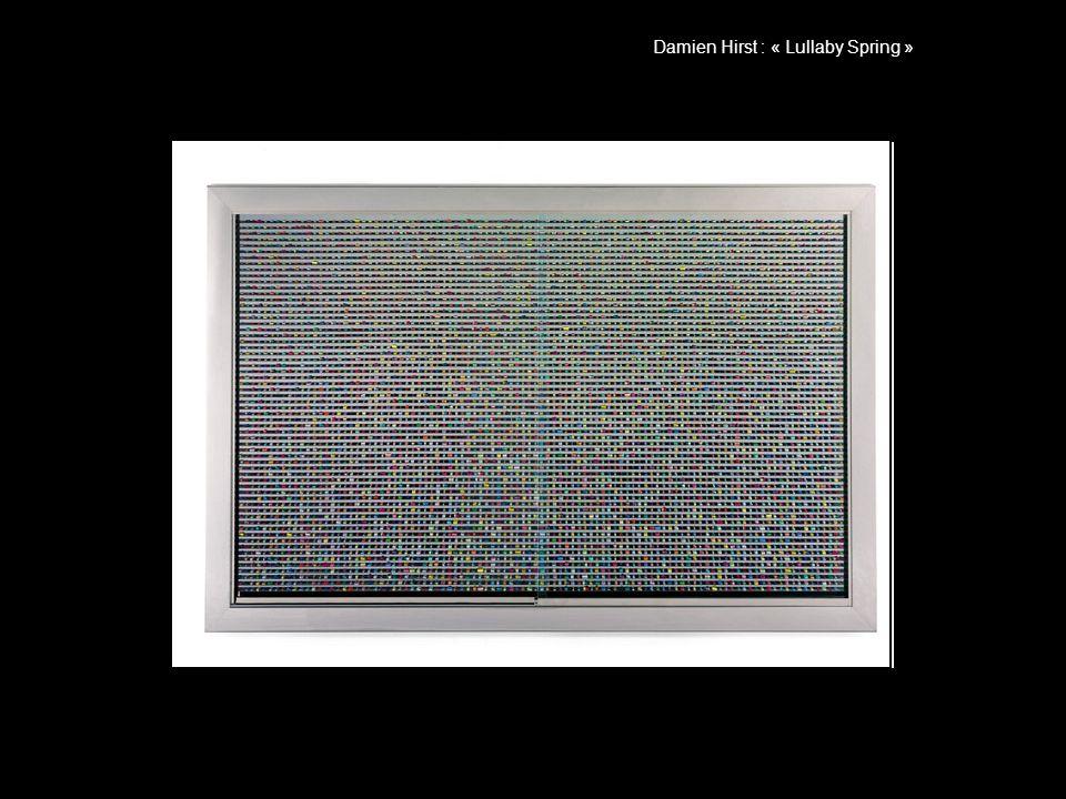 Damien Hirst : « Lullaby Spring »