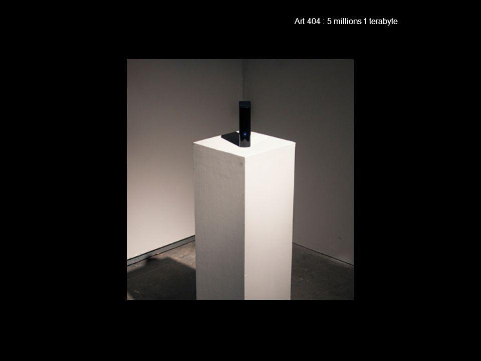 Art 404 : 5 millions 1 terabyte