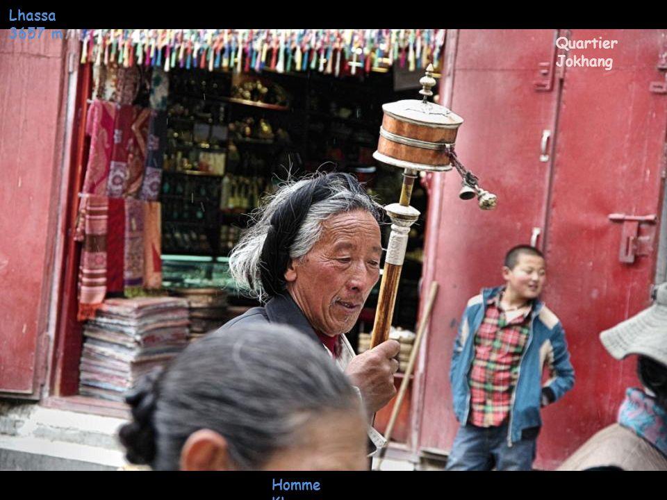Lhassa 3657 m Quartier Jokhang