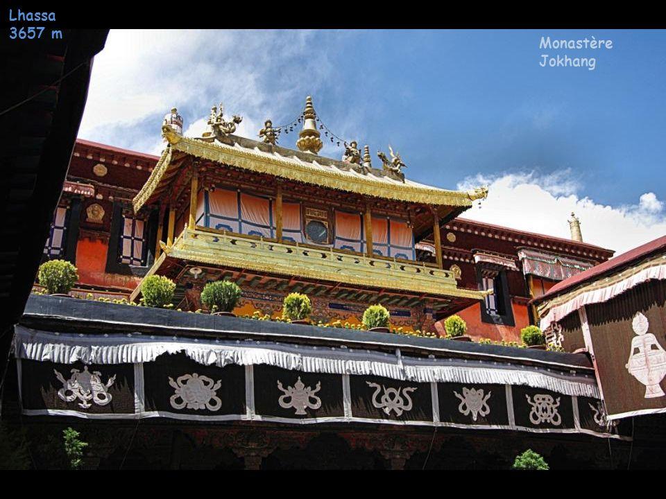 Lhassa 3657 m Monastè re Jokhang