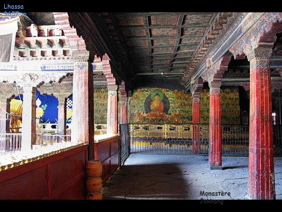 Lhassa 3657 m Monastère Jokhang