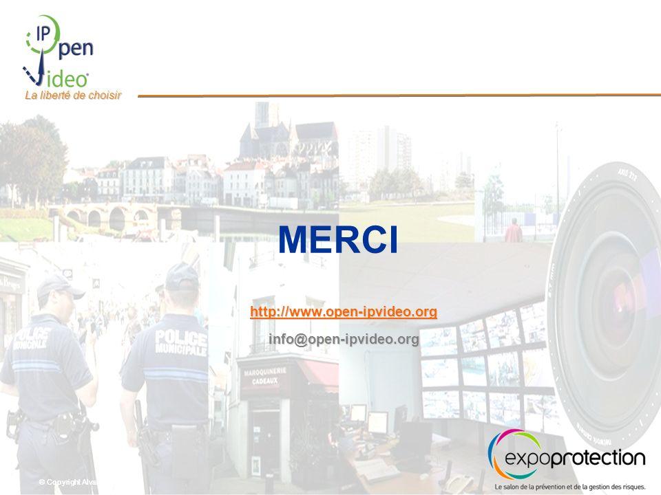 © Copyright Alvarion Ltd. La liberté de choisir MERCI http://www.open-ipvideo.org info@open-ipvideo.org