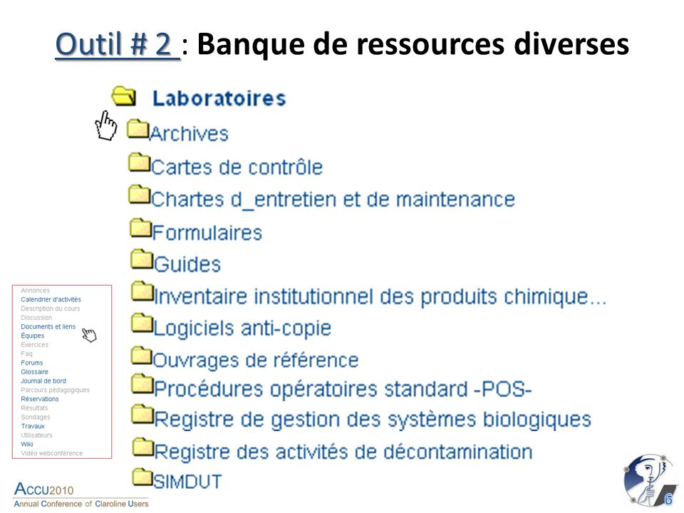 Outil # 6 Outil # 6 : Glossaire