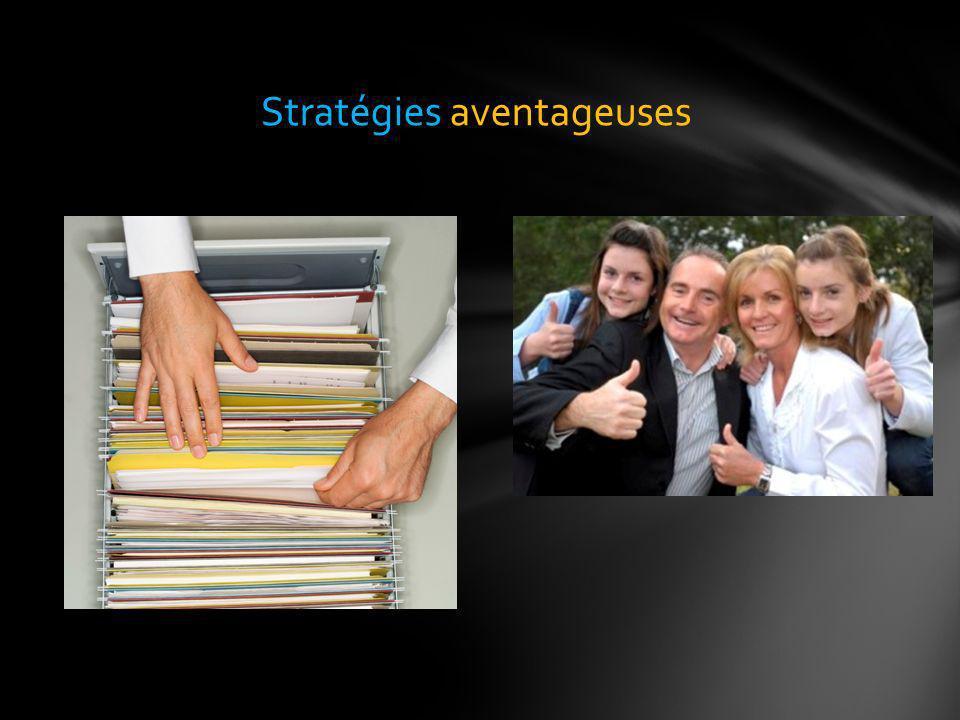 Stratégies aventageuses