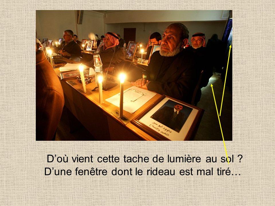 La réalité Réunion du Hamas à 13h00 avec des bougies ? Pourquoi nouvrent-ils pas les rideaux ?