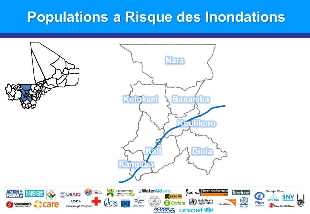 Groupe Pivot ADDA Populations a Risque des Inondations