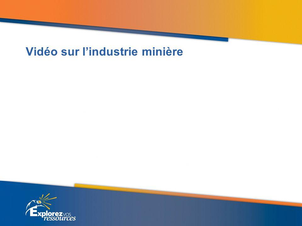 Vidéo sur lindustrie minière