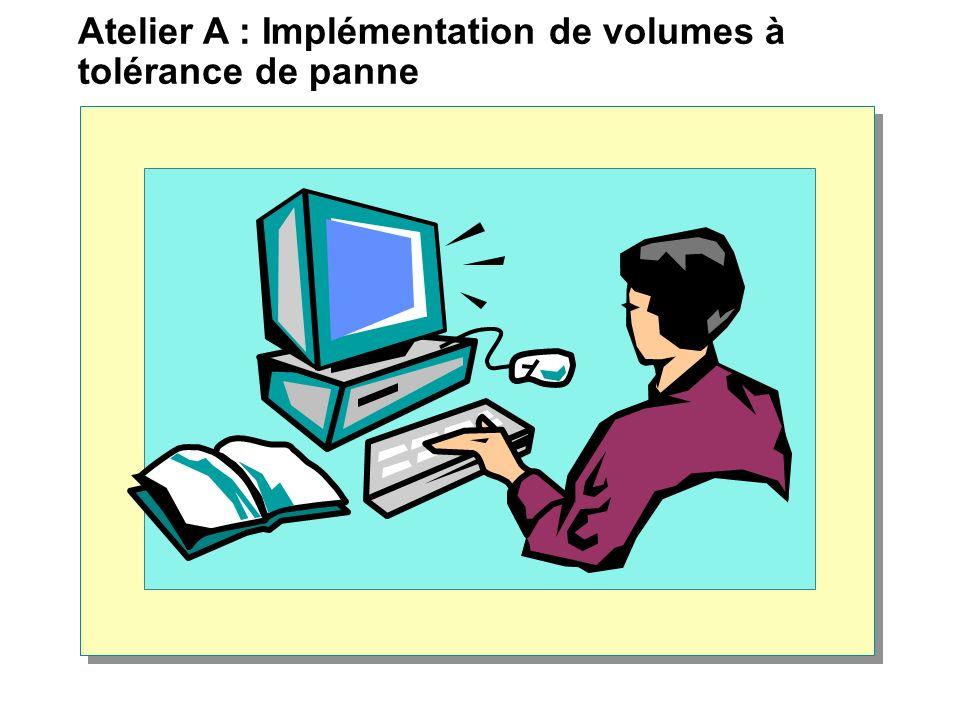 Atelier A : Implémentation de volumes à tolérance de panne