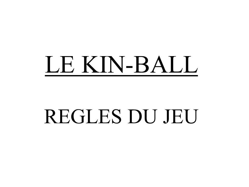 LE KIN-BALL REGLES DU JEU