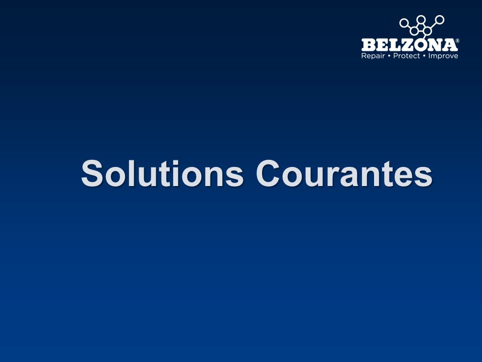 Solutions Courantes