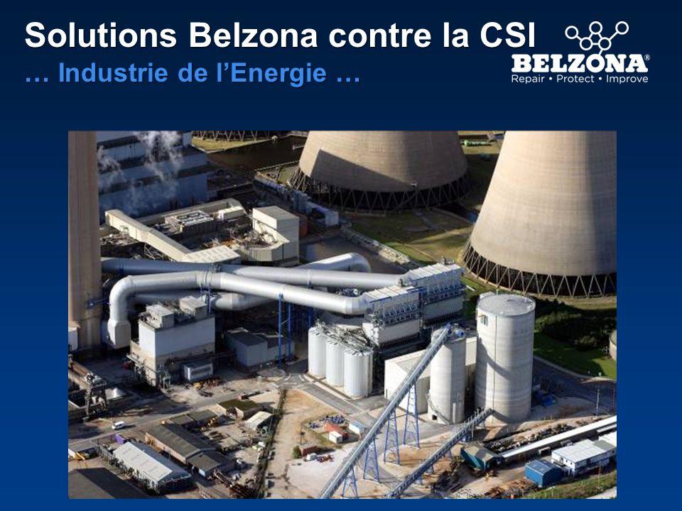 Gamme de produits Belzona Activés à la chaleur et tolérants de létat de surface Conçus pour être des tolérants de létat de surface et activés à la chaleur.