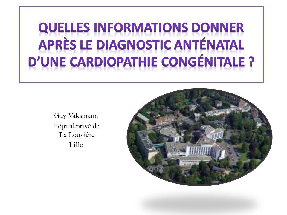 Guy Vaksmann Hôpital privé de La Louvière Lille