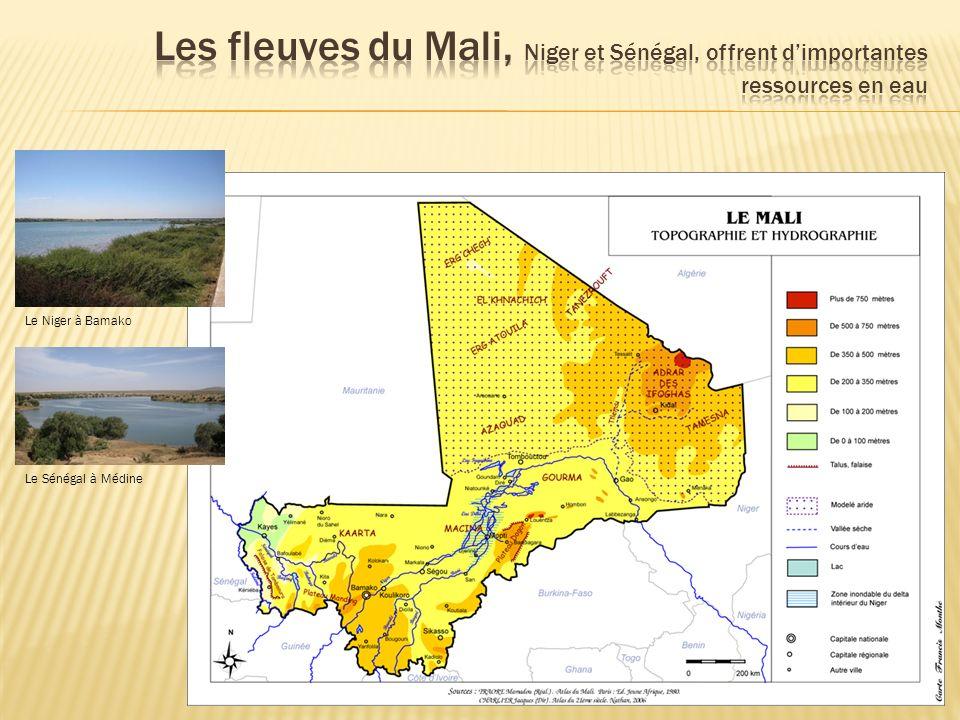 Le Niger à Bamako Le Sénégal à Médine