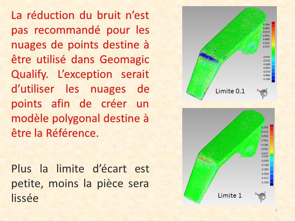 5) Echantillonnage de points 8 Léchantillonnage change la densité des points sans les déplacer.