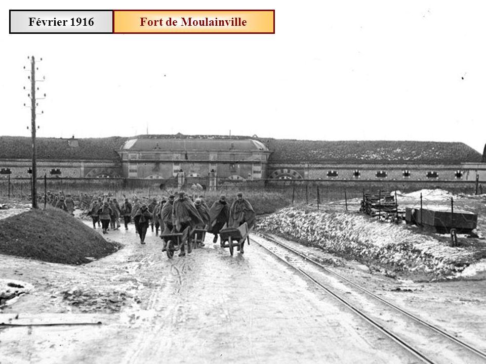 Février 1916Fort de Douaumont