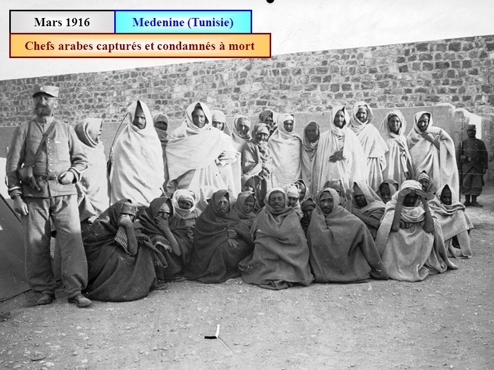 Mars 1916Monastir (Tunisie)Prisonniers de guerre allemands